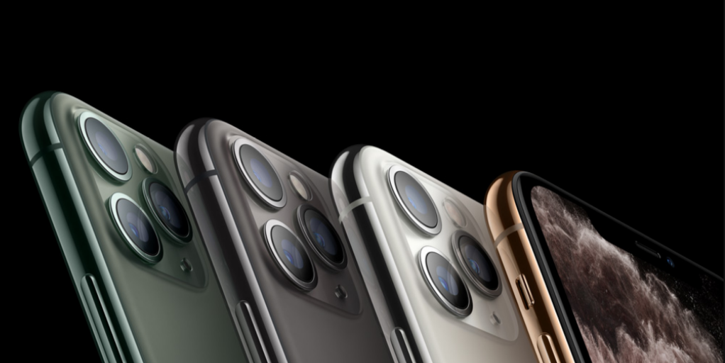 AQUOS R5GiPhone11proの比較画像